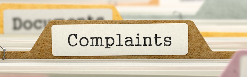 Complaint Handling files header image