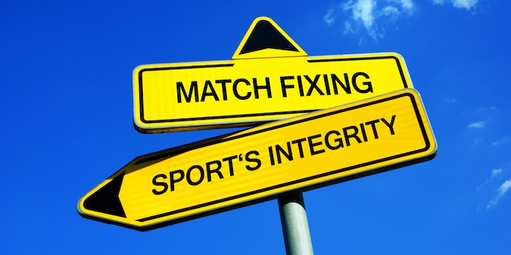 Match-fixing sign