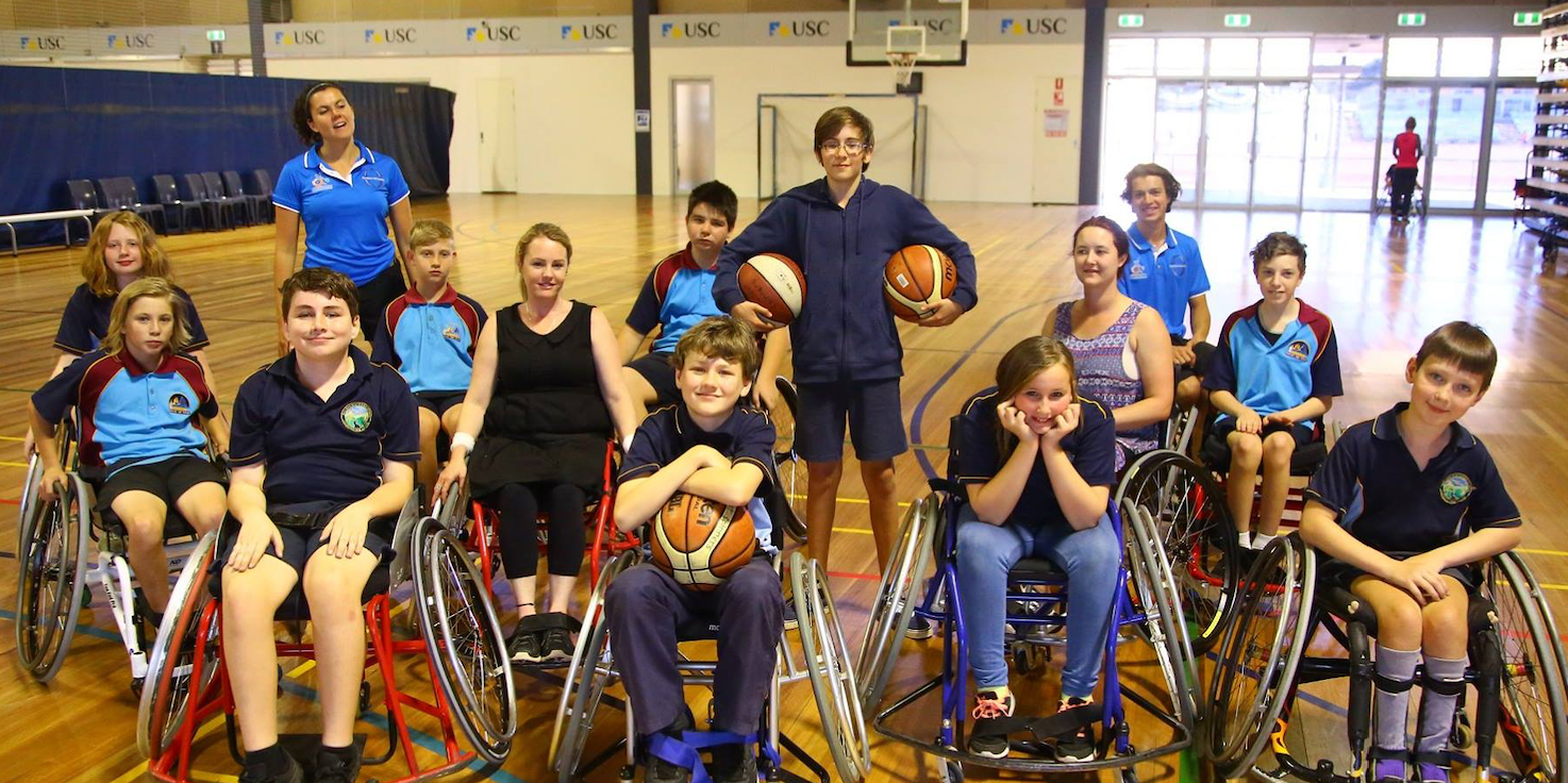 Suncoast Spinners Wheelchair Basketball Inc - Reverse Inclusion Workshops