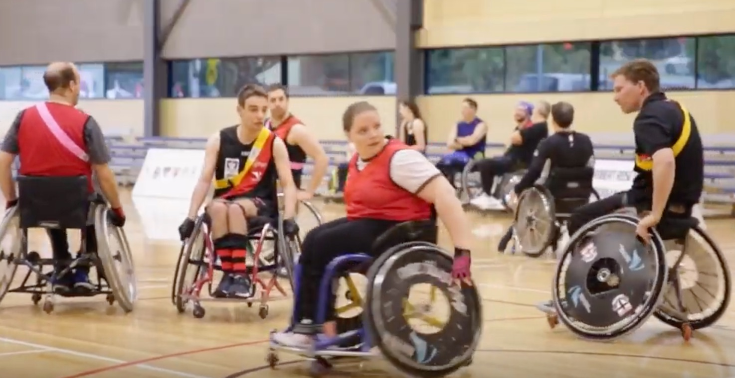 Disability Sport and Recreation - AFL Wheelchair program