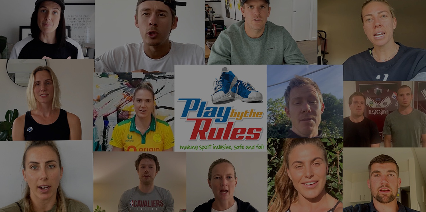 Play by the Rules campaign