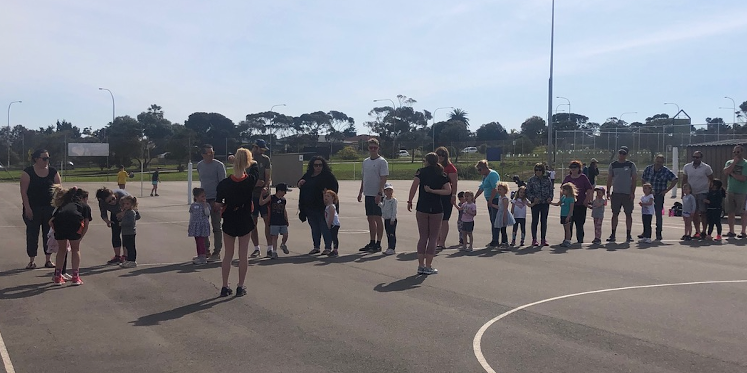 Cove Netball Club - Cubs Clinic